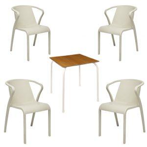 conjuntos de mesas y sillas para bar